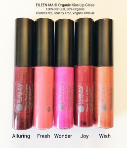 Organic Kiss Lip Gloss