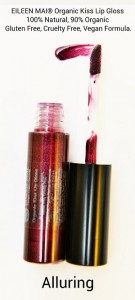 Organic Kiss Lip Gloss - ALLURING