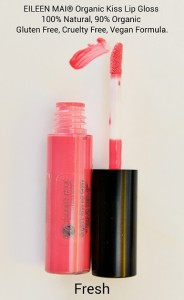Organic Kiss Lip Gloss - FRESH