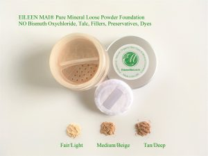Natural Silky Skin Loose Mineral Powder Foundation