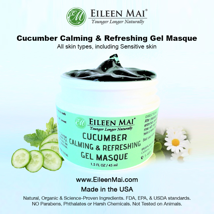 Cucumber Calming & Refreshing Gel Masque