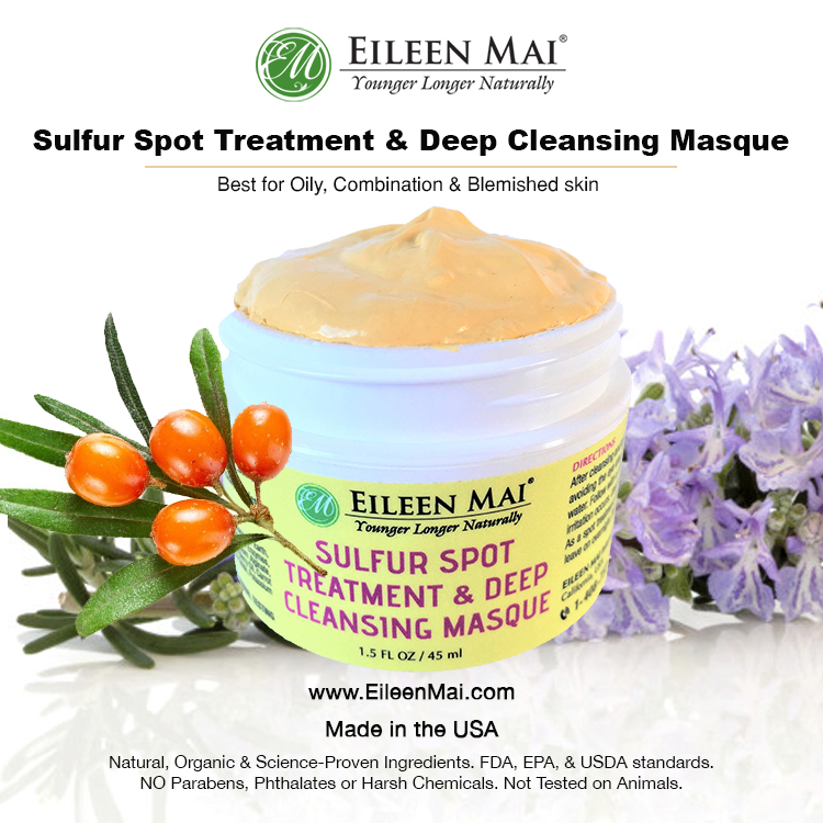 Sulfur Spot Treatment & Deep Cleansing Masque