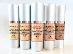 Natural Silky Skin Mineral Liquid Foundation