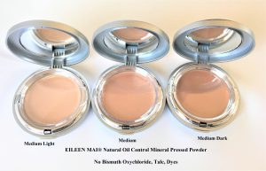 Natural Oil-Control Mineral Pressed Powder