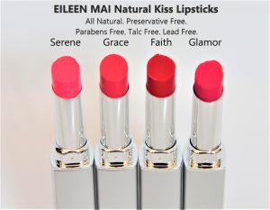 Natural Kiss Lipsticks